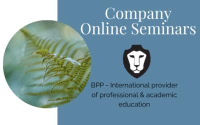 Company wellbeing seminars